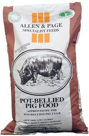 Pot-Bellied Pig Feed