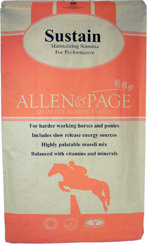Sustain Animal Feed Store Allen Amp Page Quality Horse Feed